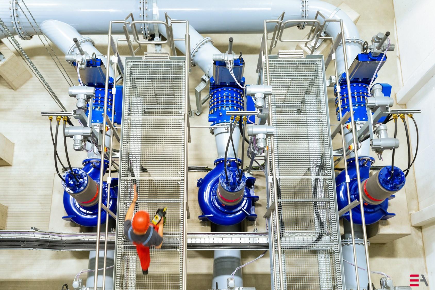 Linde-Gas-Anlagen, Komplettinstrumentierung verfahrenstechnischer Anlagen, Anschluss und Montage von Transmittern